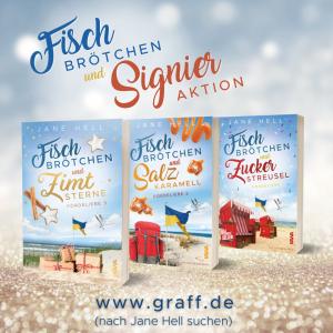 signieraktion Fischbrötchen und Zimtsterne